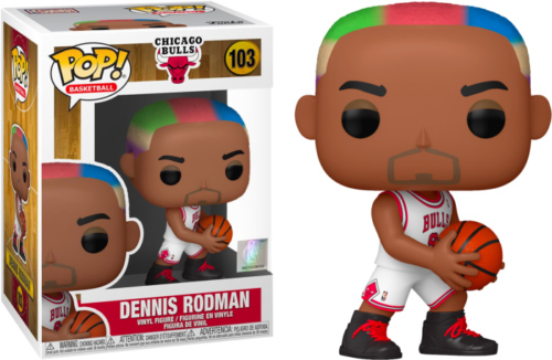Photo du produit NBA LEGENDS POP! SPORTS VINYL FIGURINE DENNIS RODMAN (BULLS HOME)