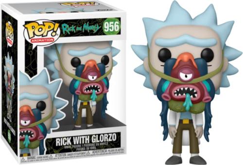 Photo du produit Rick & Morty Funko POP! Animation Vinyl figurine Rick with Glorzo 9 cm