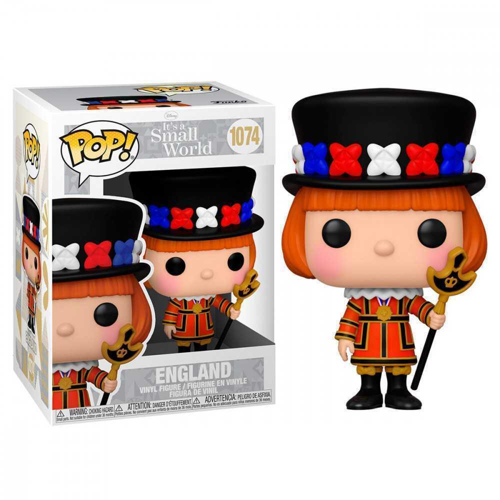 Photo du produit Funko POP! Small World Disney figurine England