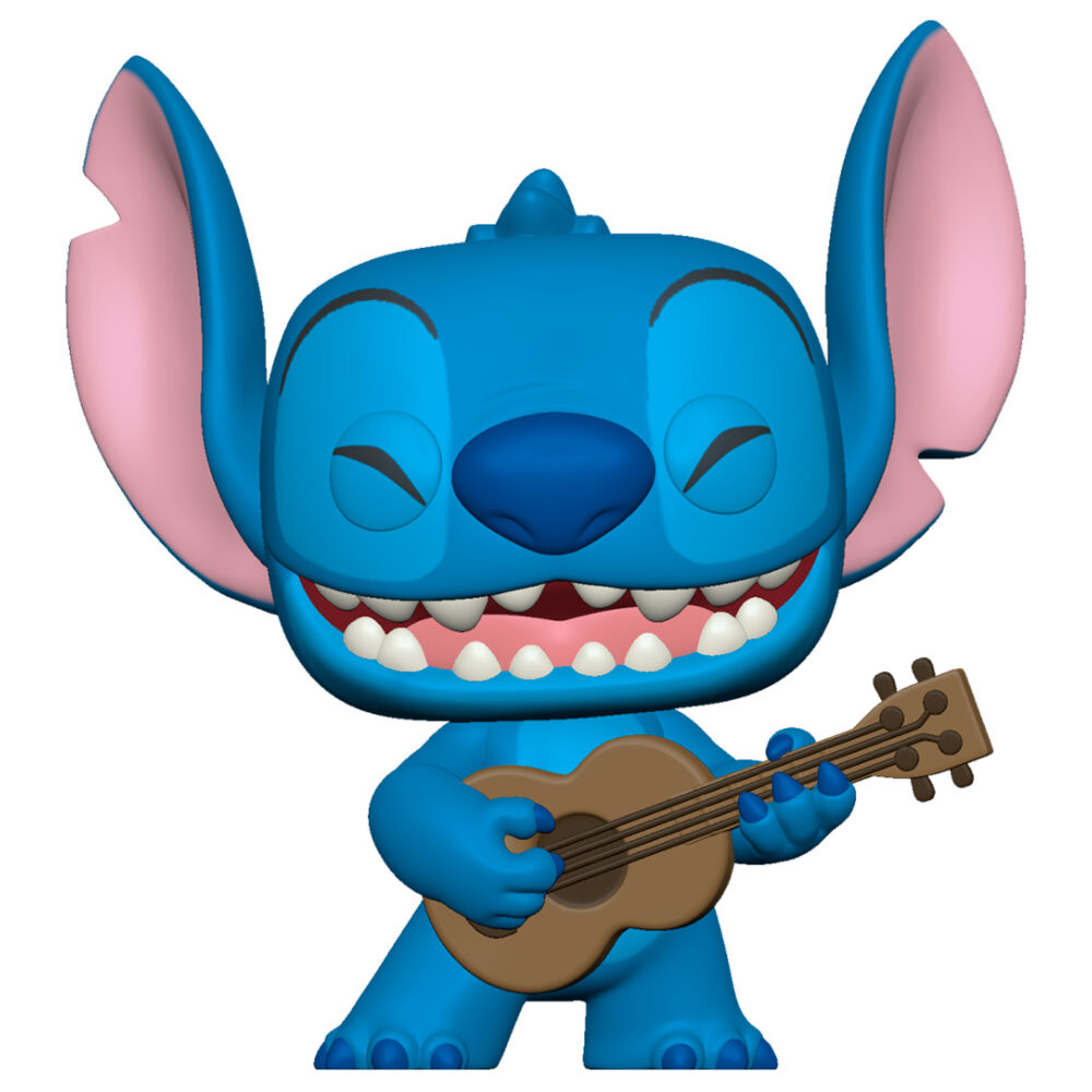 Photo du produit FUNKO POP DISNEY LILO AND STITCH - STITCH WITH UKELELE