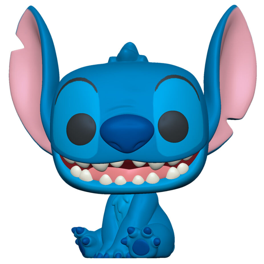 Photo du produit LILO & STITCH SUPER SIZED JUMBO POP! GAMES VINYL FIGURINE STITCH 25 CM