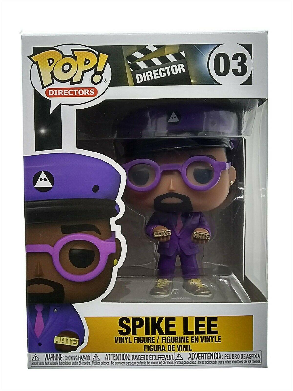 Photo du produit FUNKO POP SPIKE LEE DIRECTORS SPIKE LEE (PURPLE SUIT)
