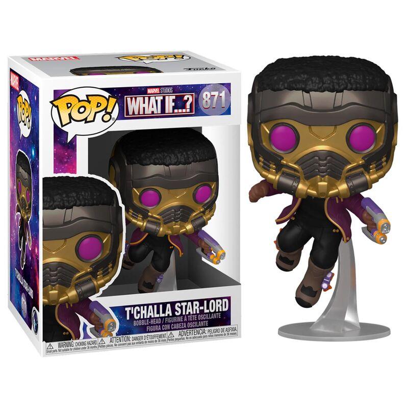 Photo du produit What If...? POP! Marvel Vinyl Figurine T'Challa Star-Lord
