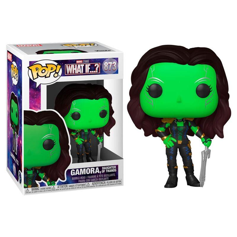 Photo du produit What If...? POP! Marvel Vinyl Figurine Gamora, Daughter of Thanos