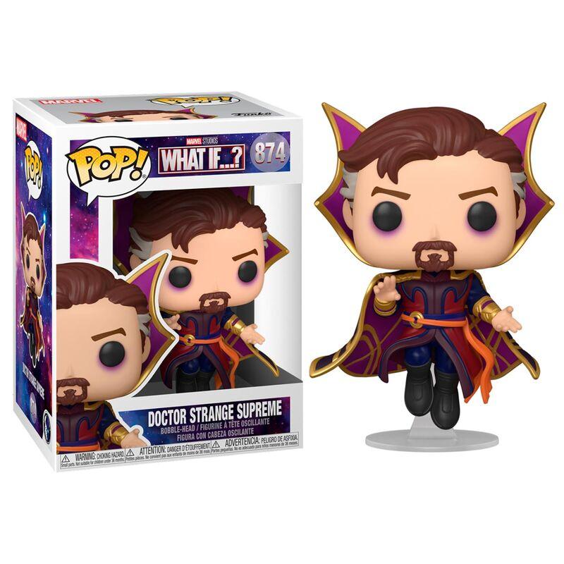 Photo du produit What If...? POP! Marvel Vinyl Figurine Doctor Strange Supreme