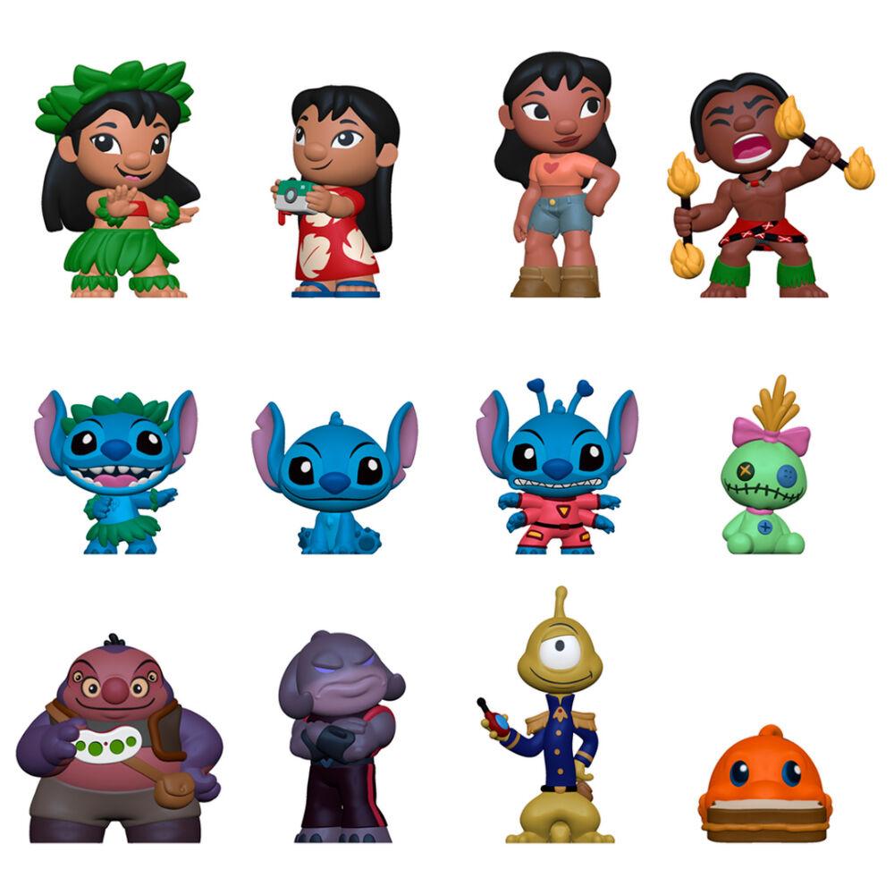 Photo du produit Lilo & Stitch présentoir 12 Mystery Minis figurines 5 cm