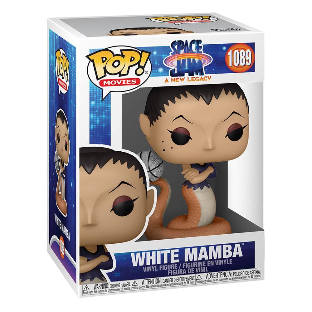 Photo du produit Space Jam 2 POP! Movies Vinyl Figurine White Mamba 9 cm