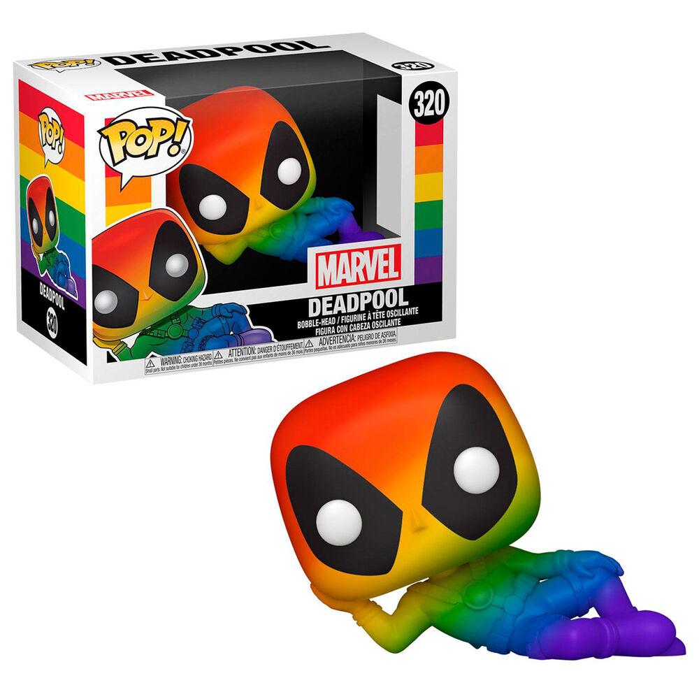 Photo du produit Marvel POP! Pride Vinyl figurine Deadpool (RNBW) 9 cm