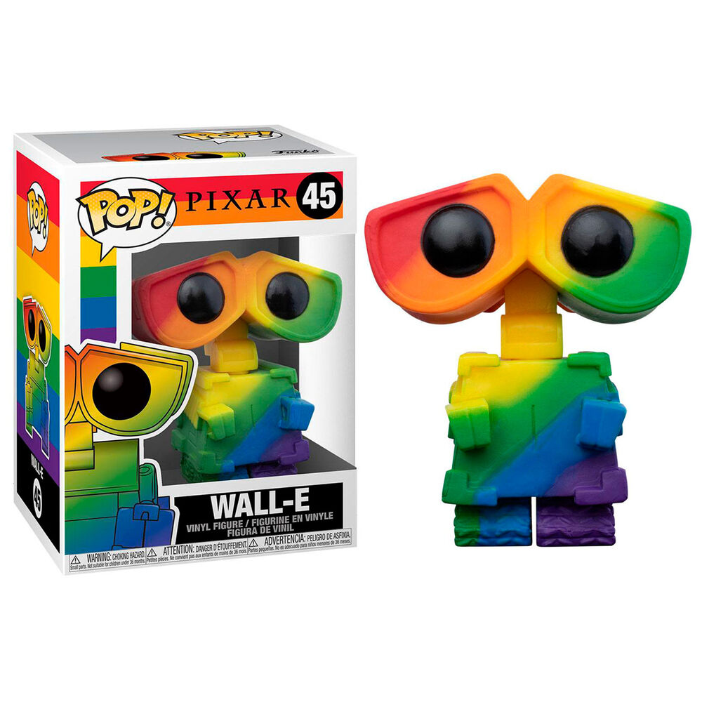 Photo du produit Funko POP Disney Pride Wall-E Rainbow