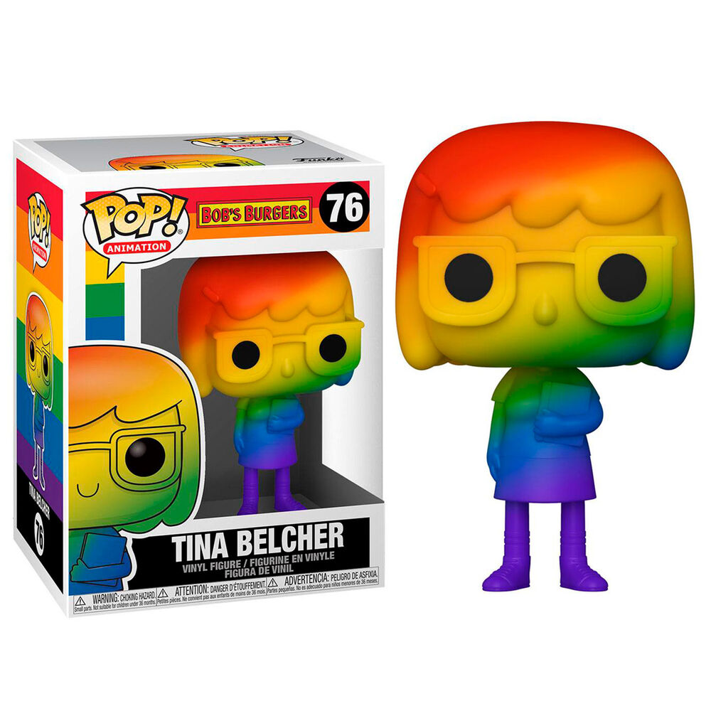 Photo du produit Funko POP Bob's Burgers Pride Tina Belcher Rainbow