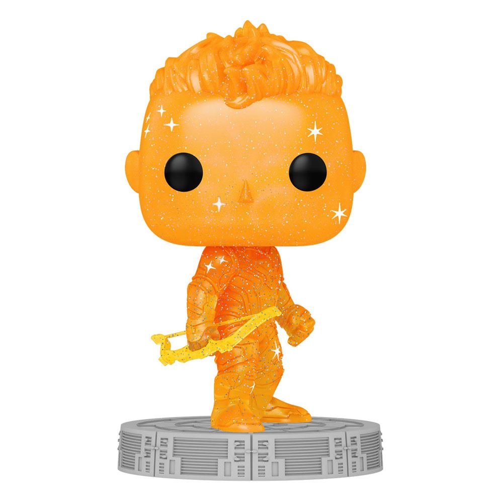 Photo du produit Infinity Saga Figurine POP! Artist Series Vinyl Hawkeye (Orange)