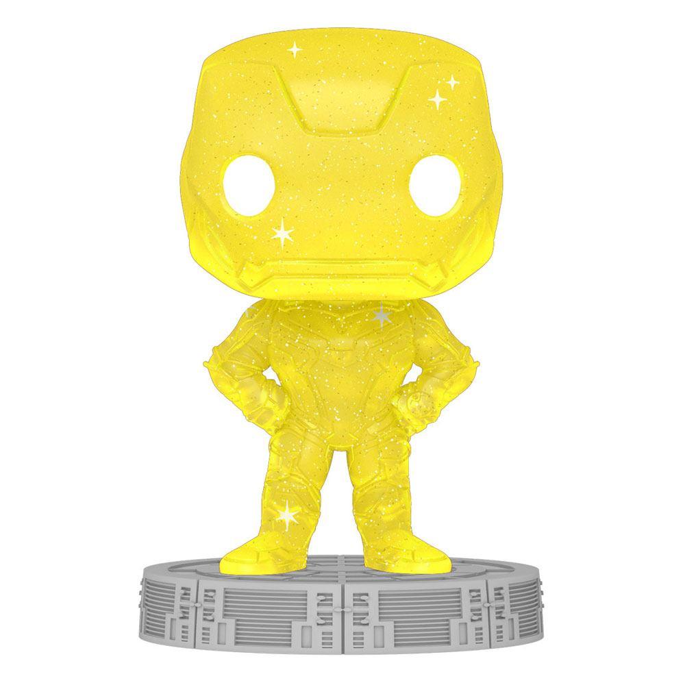Photo du produit Infinity Saga Figurine POP! Artist Series Vinyl Iron Man (Yellow)