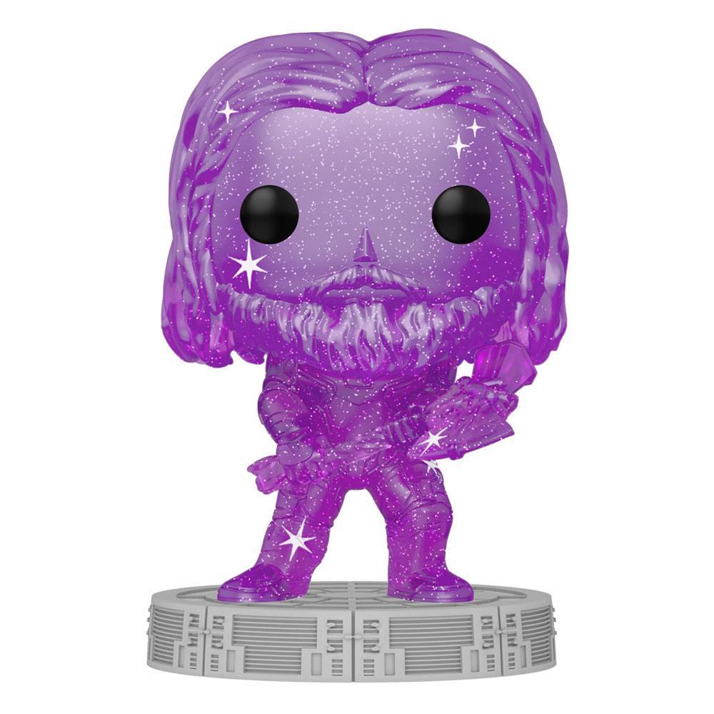 Photo du produit Infinity Saga Figurine POP! Artist Series Vinyl Thor (Purple) 9 cm