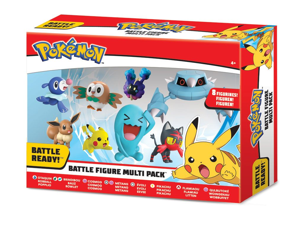 Photo du produit POKÉMON SÉRIE 1 PACK 8 FIGURINES BATTLE 5-7 CM