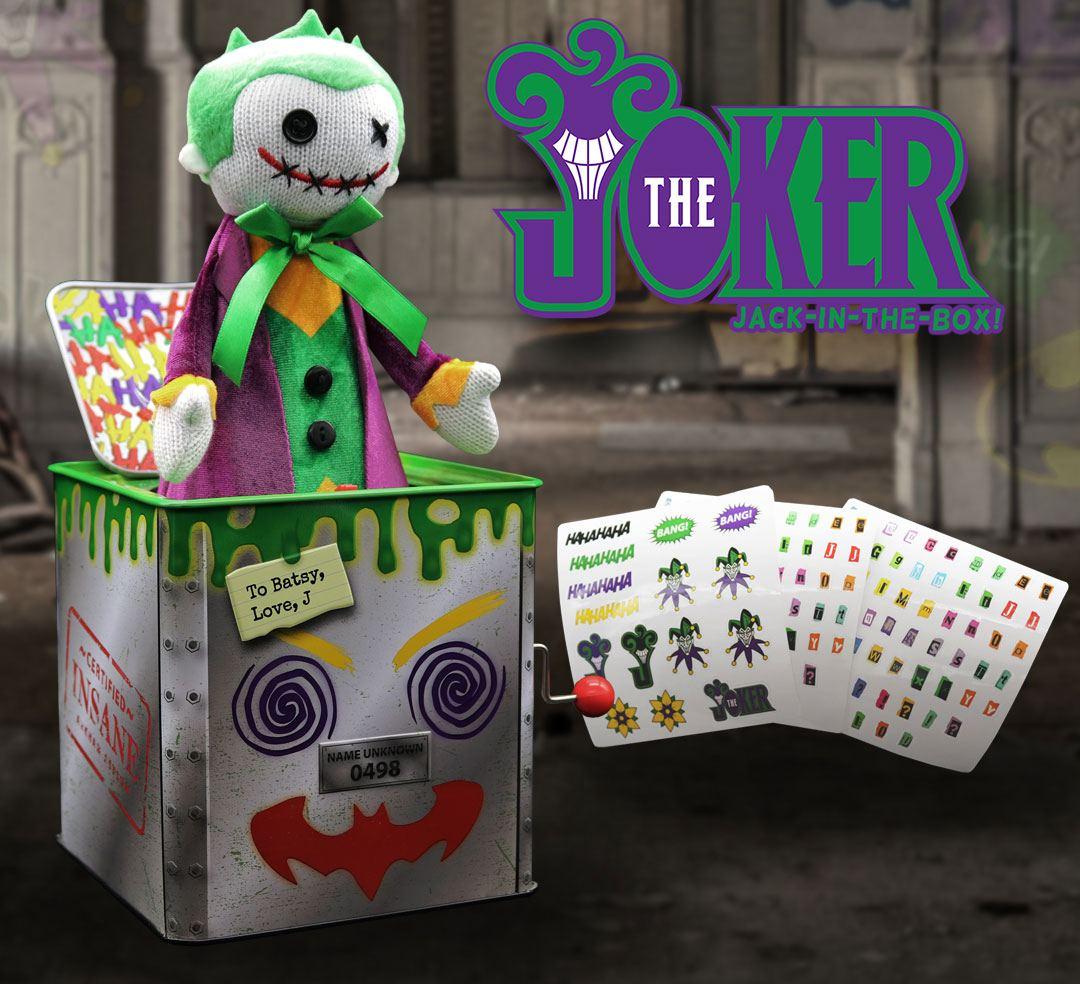 Photo du produit DC COMICS BOITE À MUSIQUE DIABLE EN BOÎTE JACK IN THE BOX JOKER 29 CM