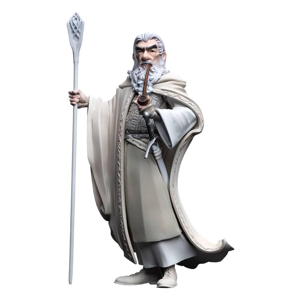 Photo du produit Le Seigneur des anneaux Les Deux Tours figurine Mini Epics Gandalf le Blanc Exclusive 18 cm
