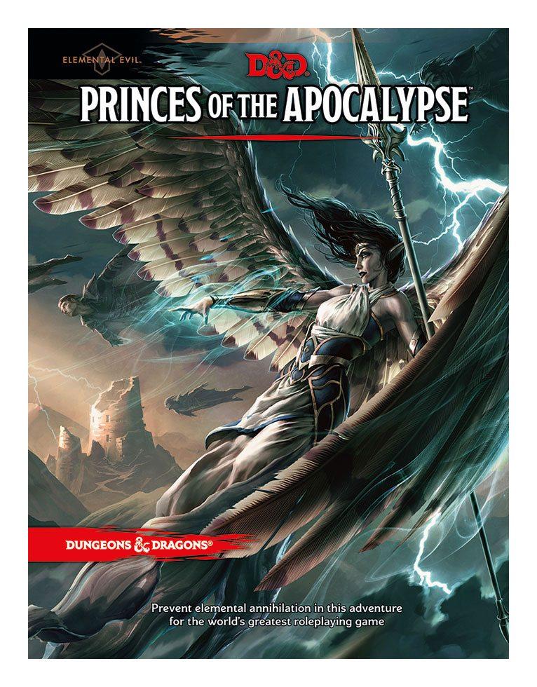 Photo du produit DUNGEONS & DRAGONS RPG ADVENTURE ELEMENTAL EVIL - PRINCES OF THE APOCALYPSE (EN ANGLAIS)