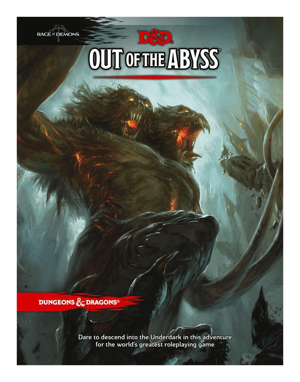 Photo du produit DUNGEONS & DRAGONS RPG ADVENTURE RAGE OF DEMONS - OUT OF THE ABYSS  (EN ANGLAIS)