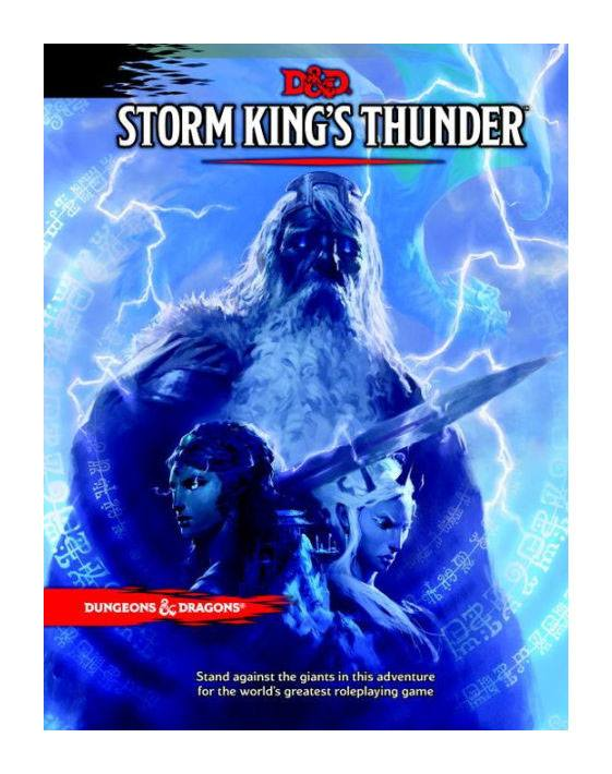 Photo du produit DUNGEONS & DRAGONS RPG ADVENTURE STORM KING'S THUNDER (EN ANGLAIS)