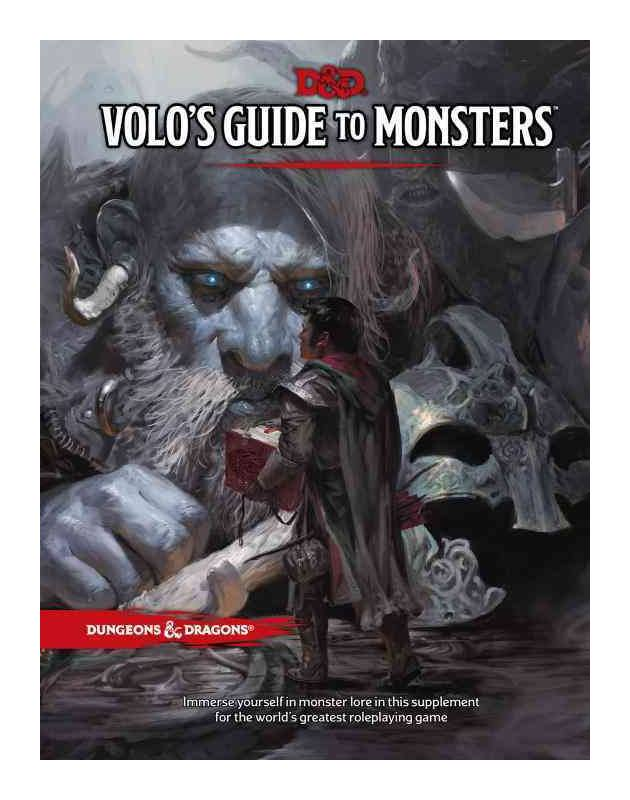 Photo du produit DUNGEONS & DRAGONS RPG VOLO'S GUIDE TO MONSTERS (EN ANGLAIS)