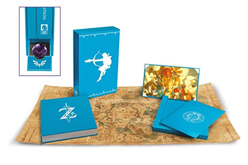 Photo du produit LEGEND OF ZELDA BREATH OF THE WILD ART BOOK CREATING A CHAMPION HERO'S EDITION (EDITION ANGLAISE)