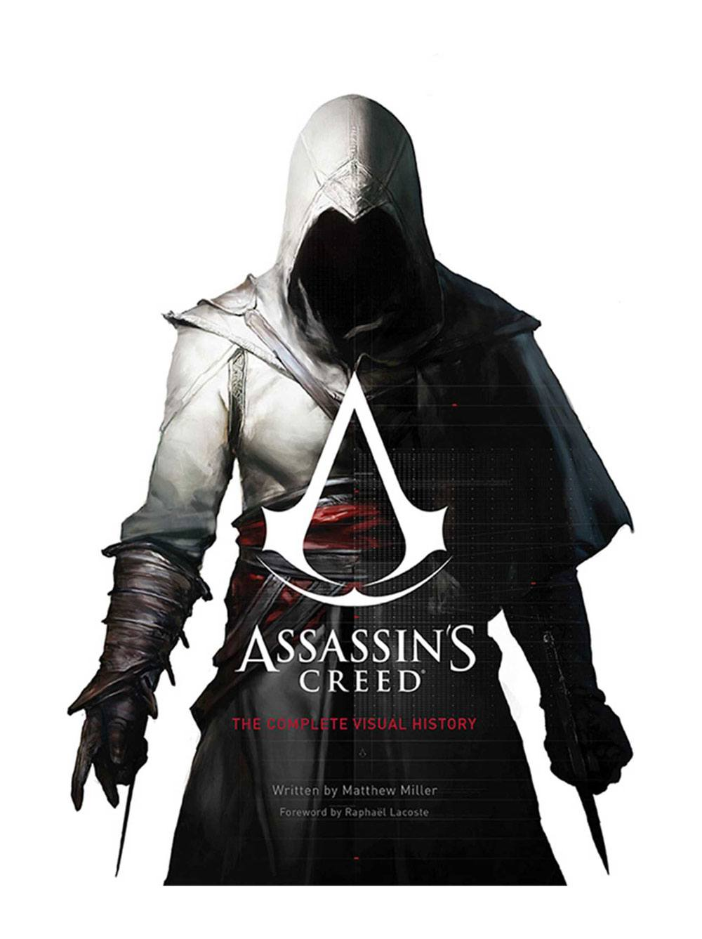Photo du produit ASSASSIN'S CREED ART BOOK THE COMPLETE VISUAL HISTORY   [EN ANGLAIS]