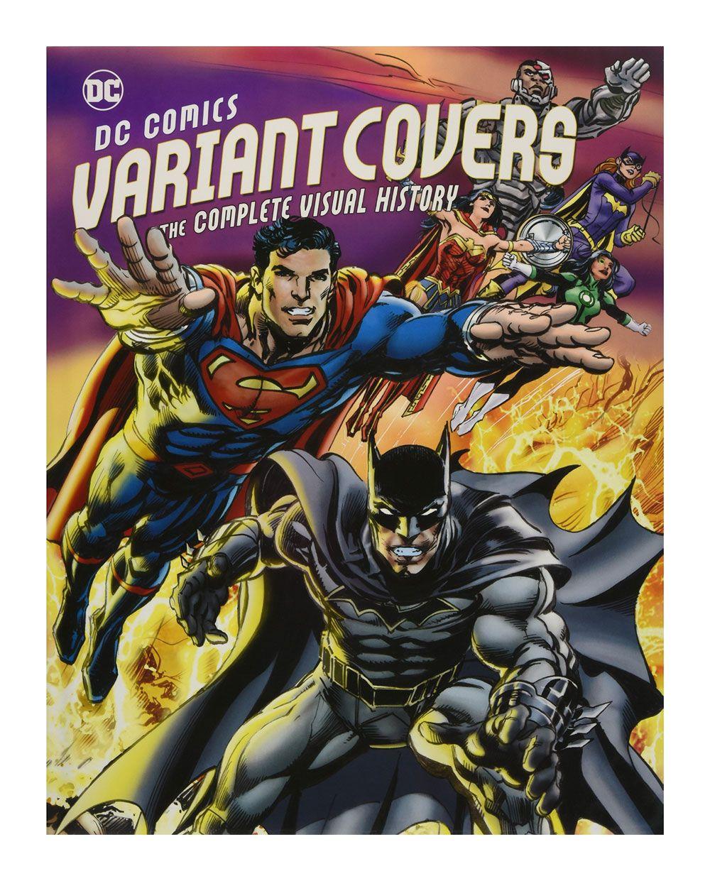 Photo du produit DC COMICS ART BOOK VARIANT COVERS  [EN ANGLAIS]