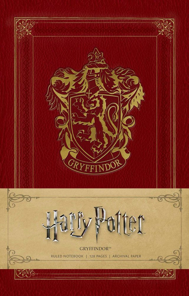 Photo du produit HARRY POTTER CARNET DE NOTES GRYFFINDOR