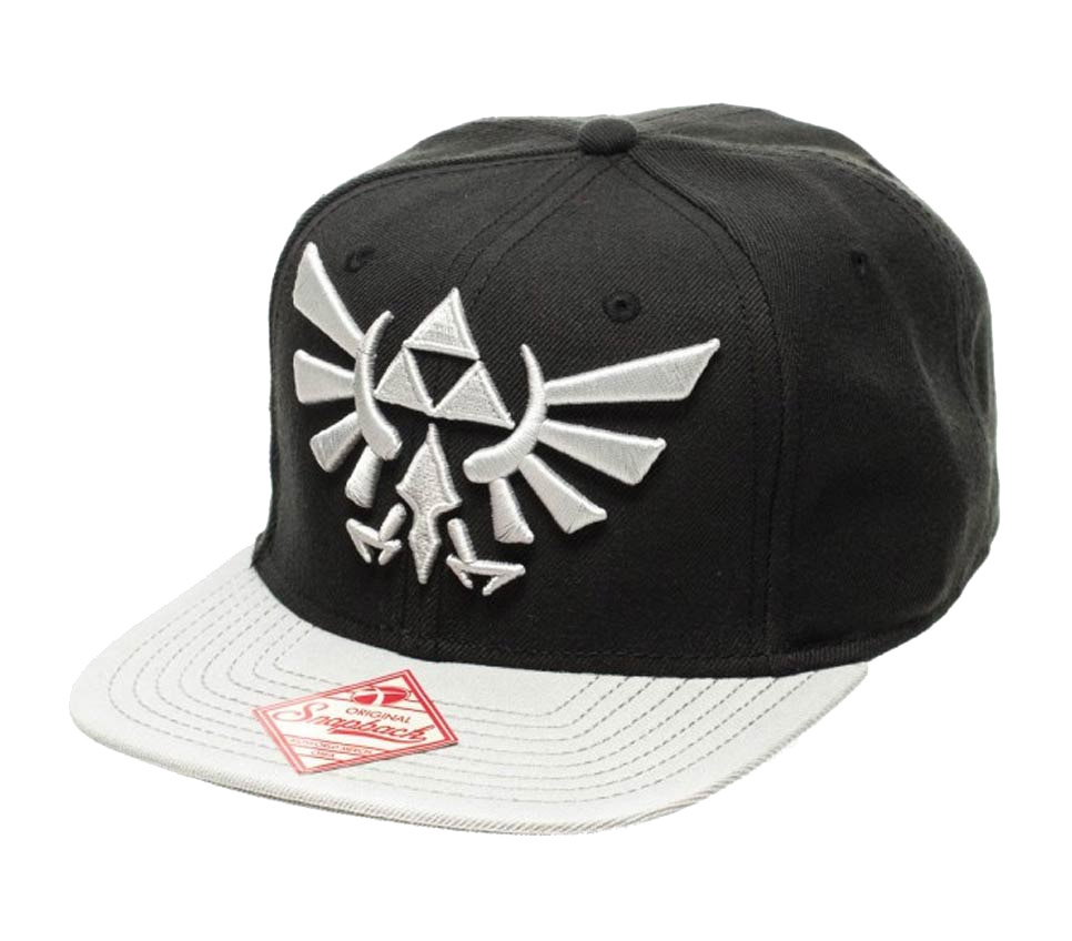 Photo du produit NINTENDO CASQUETTE HIP HOP ZELDA GREY LOGO