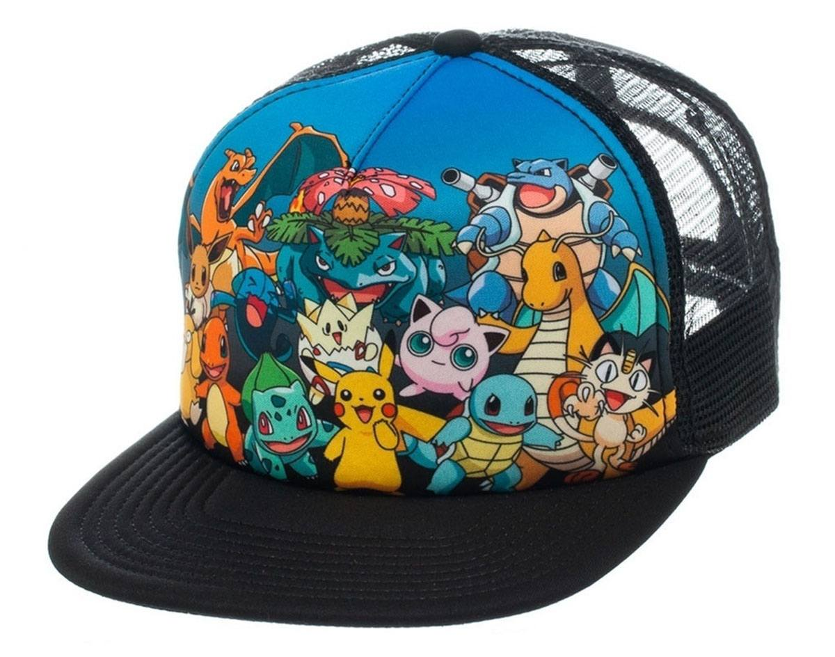Photo du produit CASQUETTE POKEMON TRUCKER CHARACTERS