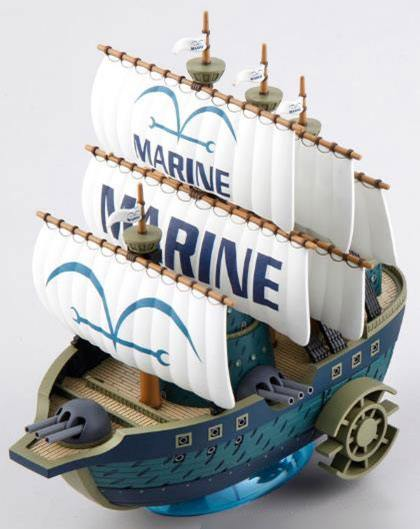 Photo du produit FIGURINE BANDAI ONE PIECE GRAND SHIP COLLECTION FIGURINE PLASTIC MODEL KIT MARINE SHIP 15 CM