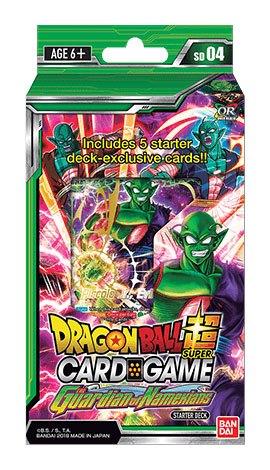 Photo du produit DRAGONBALL SUPER CARD GAME SEASON 4 STARTER DECK THE GUARDIAN OF NAMEKIANS (EN ANGLAIS)