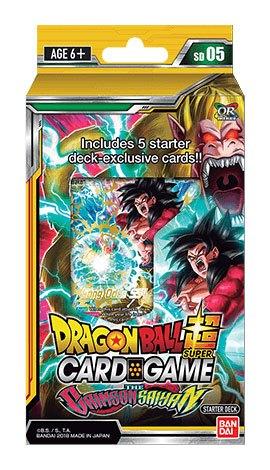 Photo du produit DRAGONBALL SUPER CARD GAME SEASON 5 STARTER DECK THE CRIMSON SAIYAN (EN ANGLAIS)