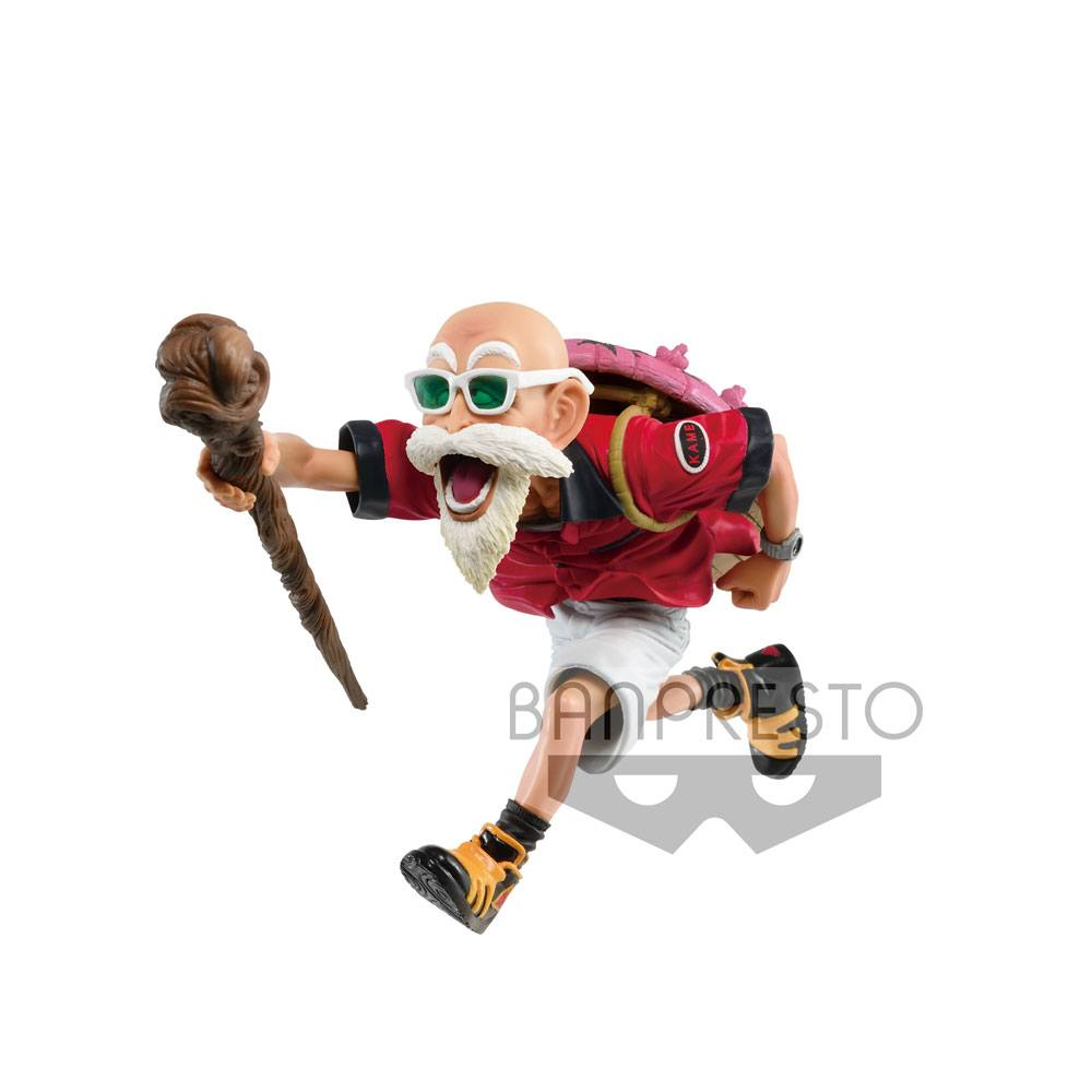 Photo du produit BANPRESTO DRAGONBALL FIGURINE SCULTURES MASTER ROSHI TROPICAL COLOR VER. 12 CM