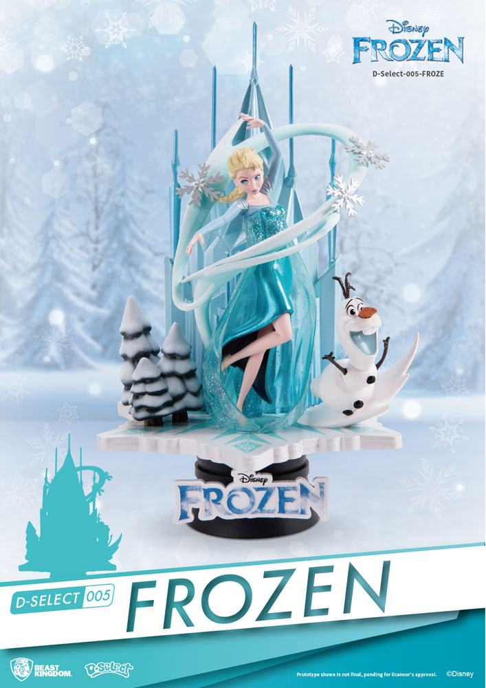 Photo du produit LA REINE DES NEIGES DIORAMA PVC D-SELECT 18 CM