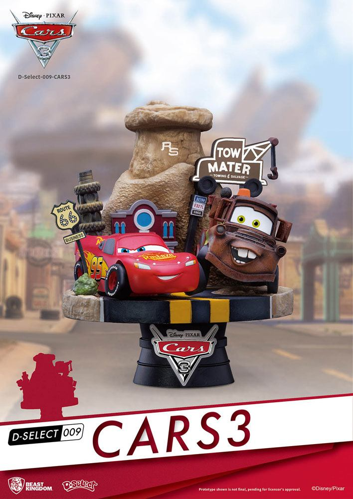 Photo du produit CARS 3 DIORAMA PVC D-SELECT 13 CM