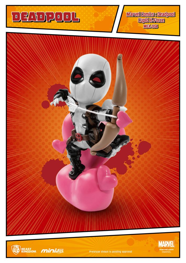 Photo du produit MARVEL COMICS FIGURINE MINI EGG ATTACK DEADPOOL CUPID X-FORCE VERSION SDCC EXCLUSIVE