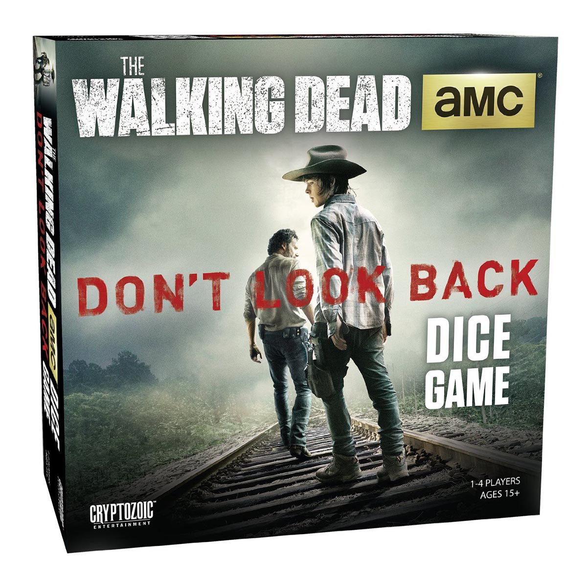 Walking dead jeu de plateau don 39 t look back version anglaise for Les jardins du ciel version anglaise
