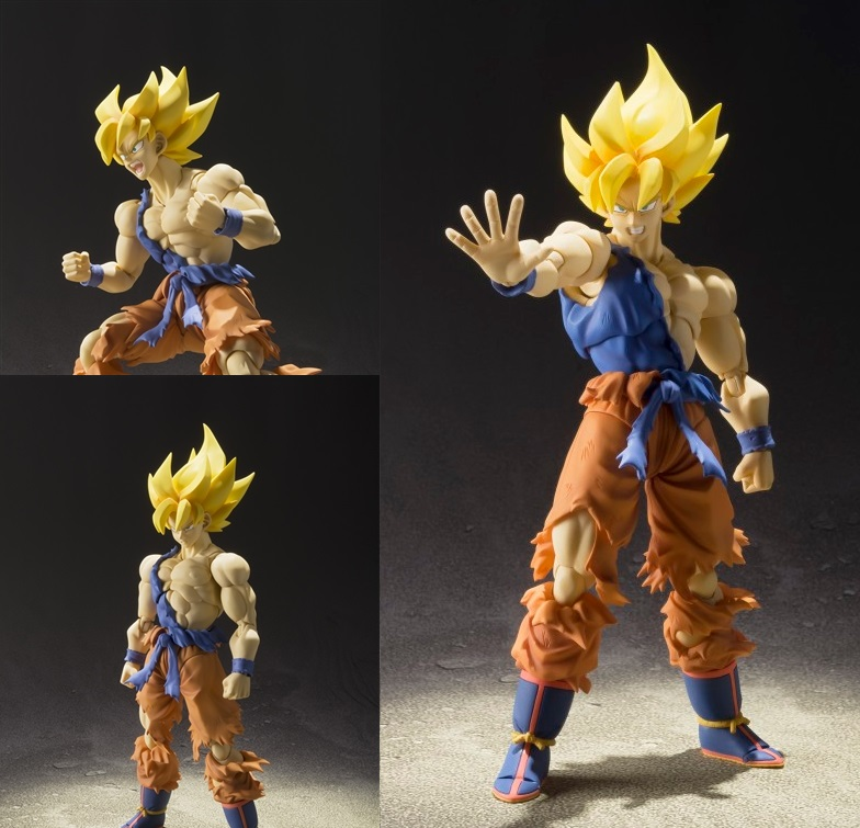 Photo du produit BANDAI FIGUARTS SUPER SAIYAN SON GOKU WARRIOR AWAKENING