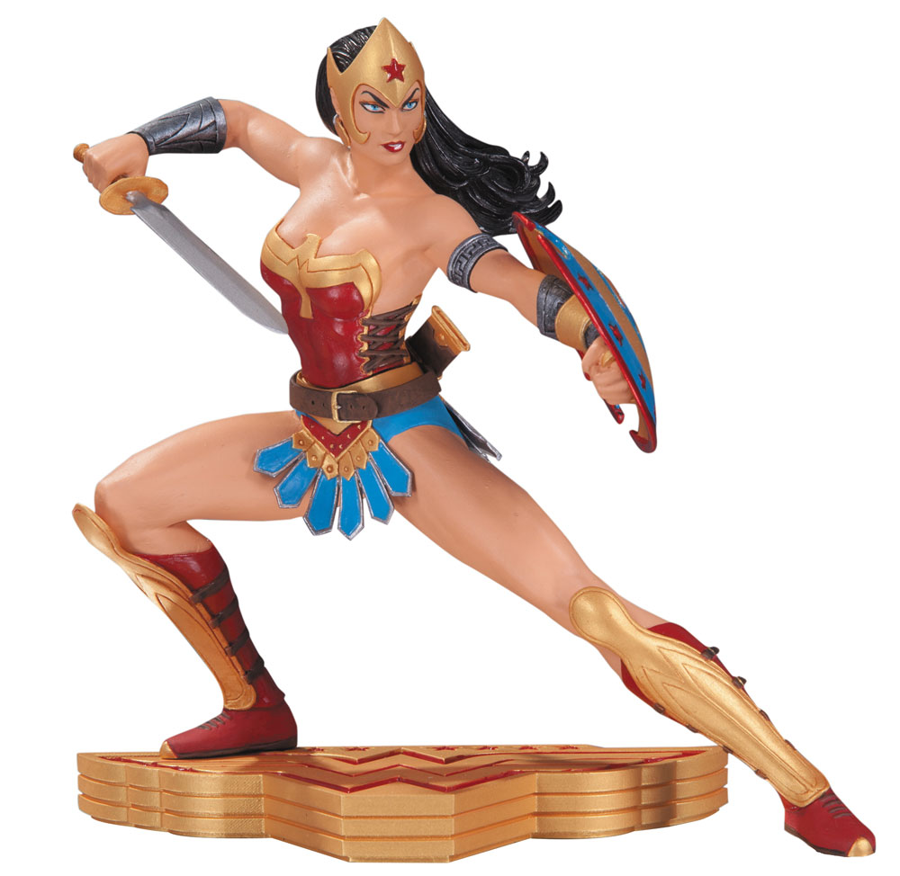 Photo du produit WONDER WOMAN THE ART OF WAR STATUETTE WONDER WOMAN BY JOSE LUIS GARCIA-LOPEZ