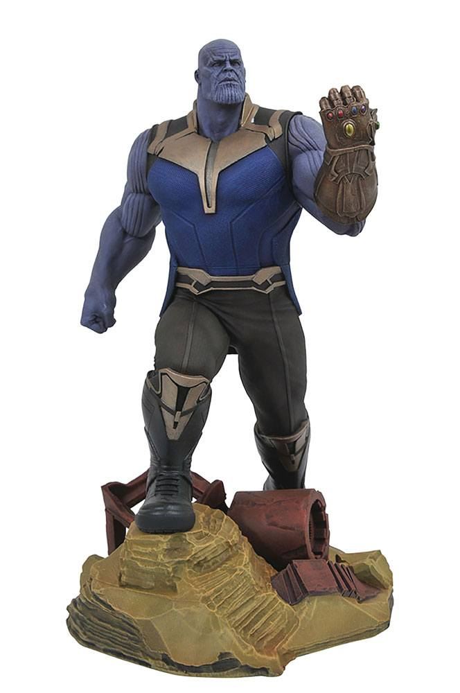 Photo du produit AVENGERS INFINITY WAR MARVEL GALLERY STATUETTE THANOS 23 CM