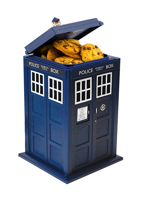 Photo du produit DOCTOR WHO BOITE À COOKIE SONORE 24CM