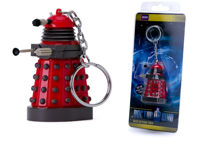 Photo du produit DOCTOR WHO PORTE CLÉ DALEK LIGHT UP