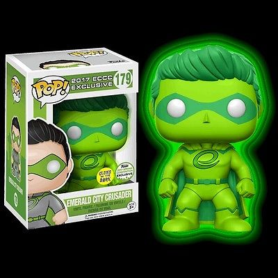 Photo du produit FUNKO POP EMERALD CITY CRUSADER GLOW IN THE DARK ECCC