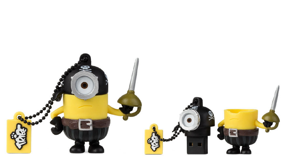 cle usb minions 8 go eye matie. Black Bedroom Furniture Sets. Home Design Ideas
