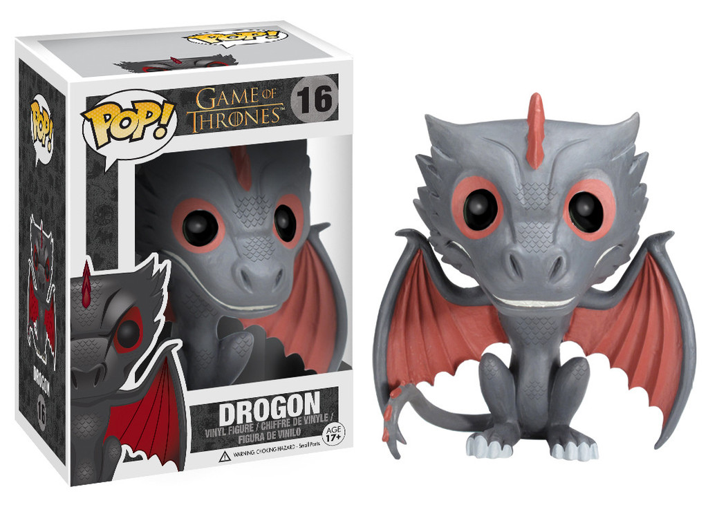 Photo du produit FUNKO POP! DROGON - GAME OF THRONES