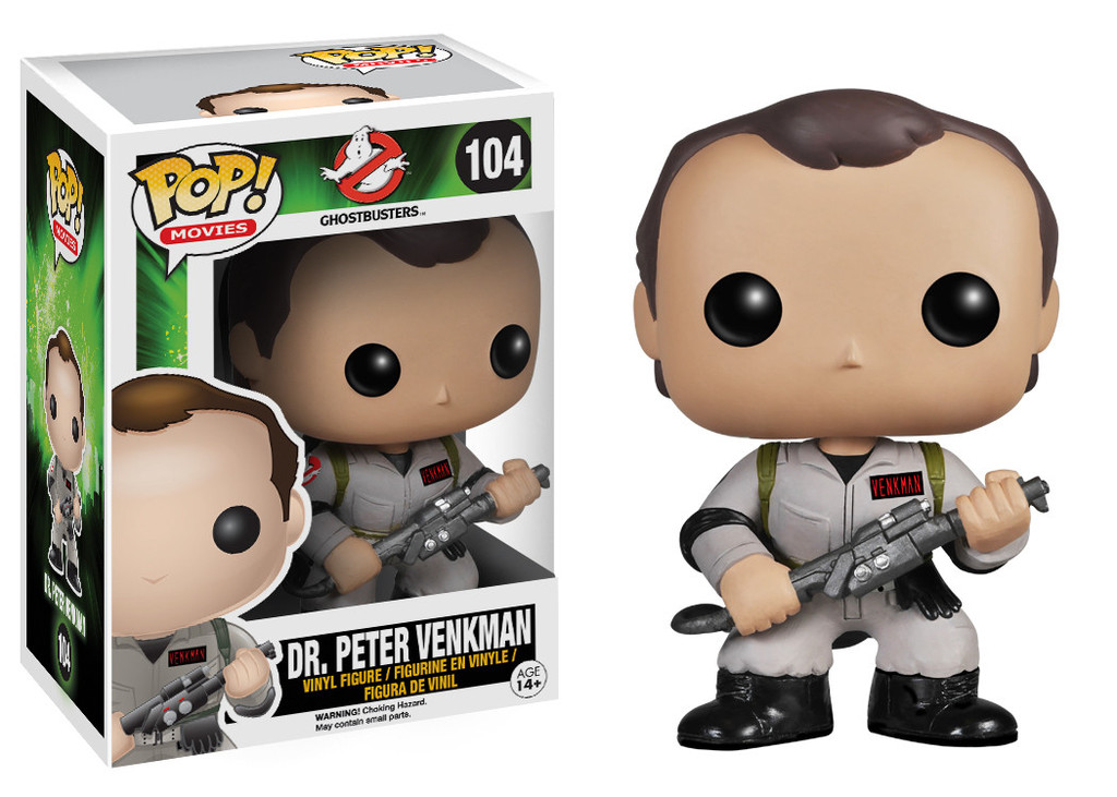 Photo du produit Funko Pop! Ghostbusters Docteur Peter Venkman