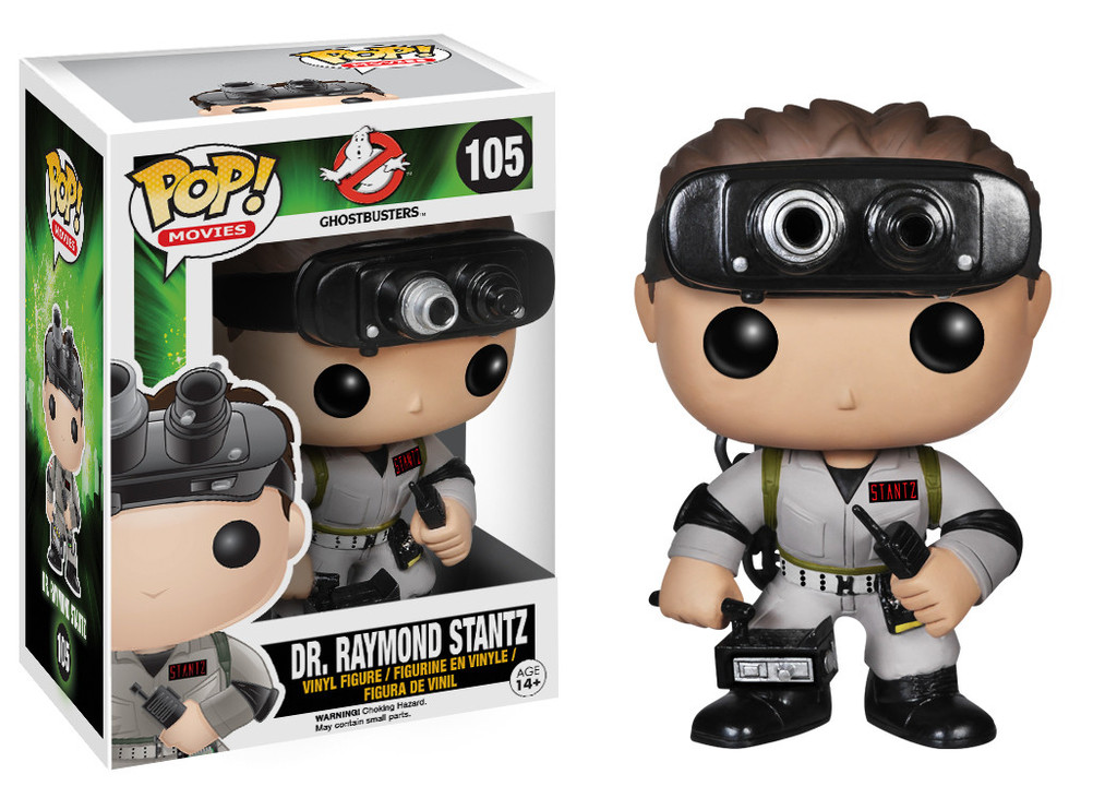 Photo du produit Funko Pop! Ghostbusters Docteur Raymond Stantz