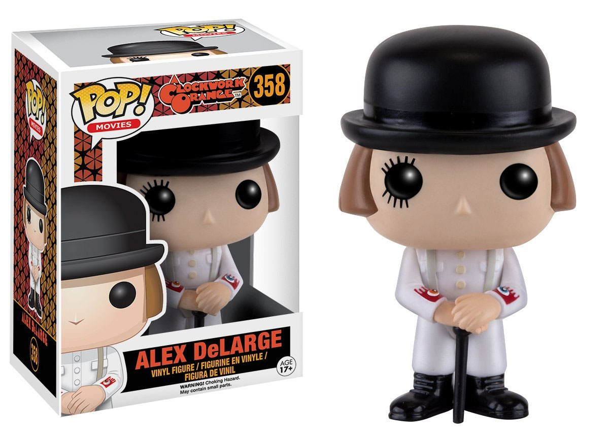 Photo du produit ORANGE MECANIQUE FUNKO POP! ALEX DELARGE
