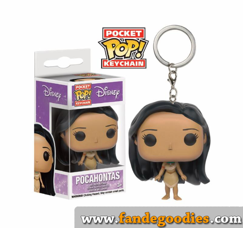Photo du produit POCAHONTAS PORTE-CLE POCKET POP! VINYL POCAHONTAS
